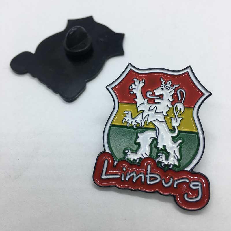 Pin Limburg Zwart, Rood Geel Groen
