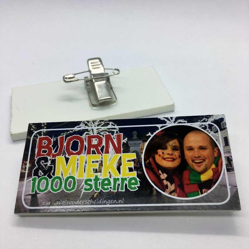 Speltpin Bjorn en Mieke 1000 sterren (laatste voorraad)